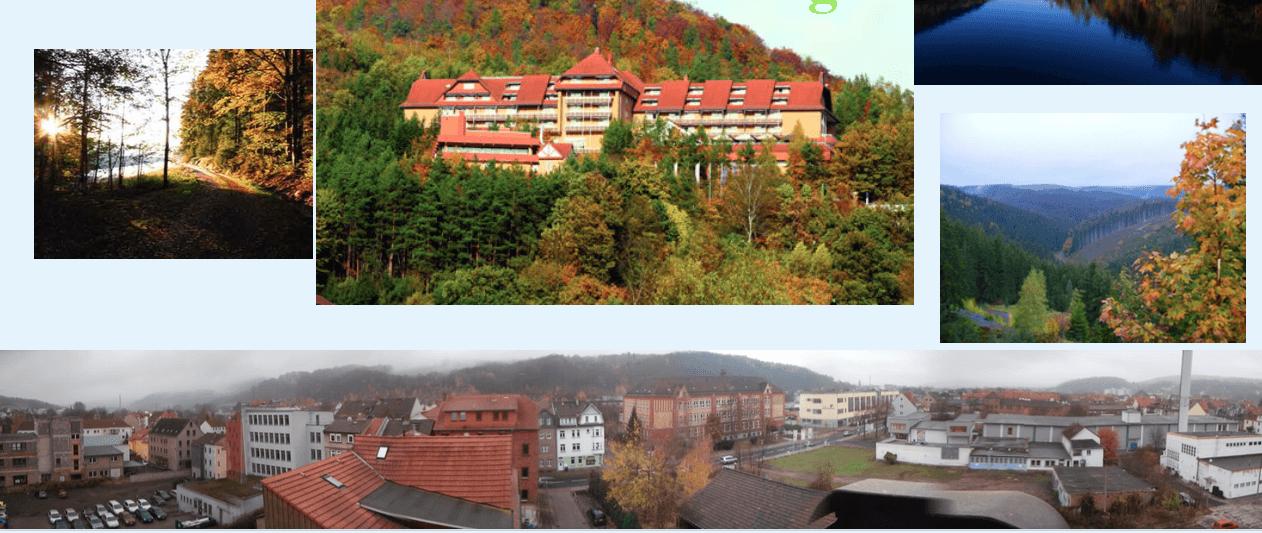 Praktyki zagraniczne uczniów Zespołu Szkół w Czudcu - Turyngia / Niemcy