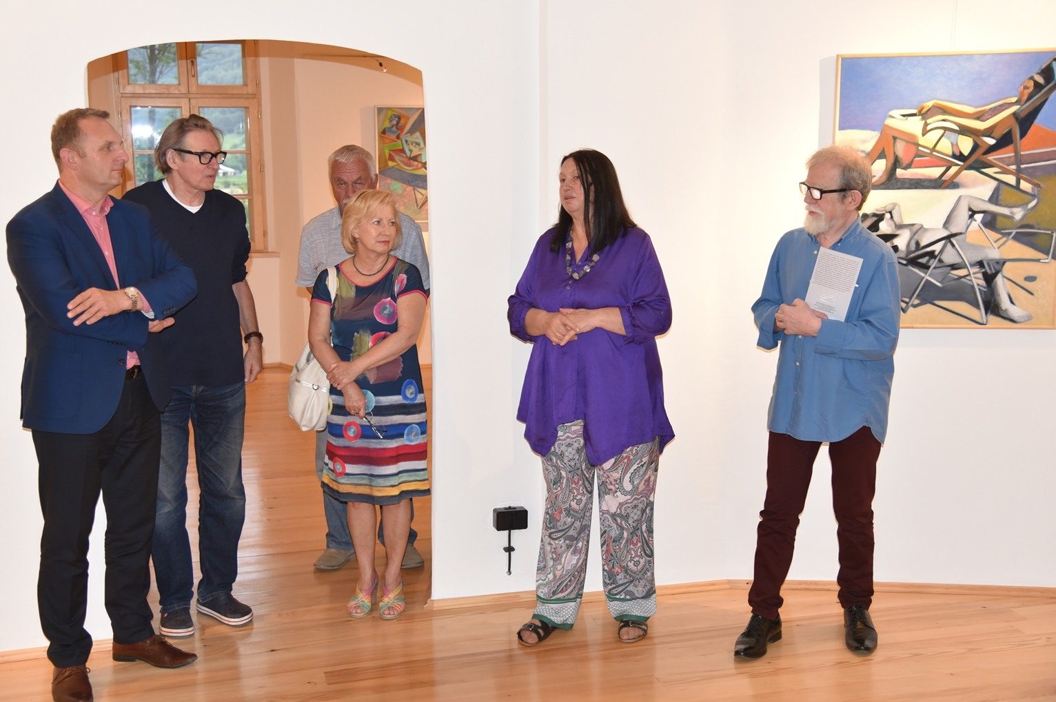 Wystawa prac Sachy Stawiarskiego