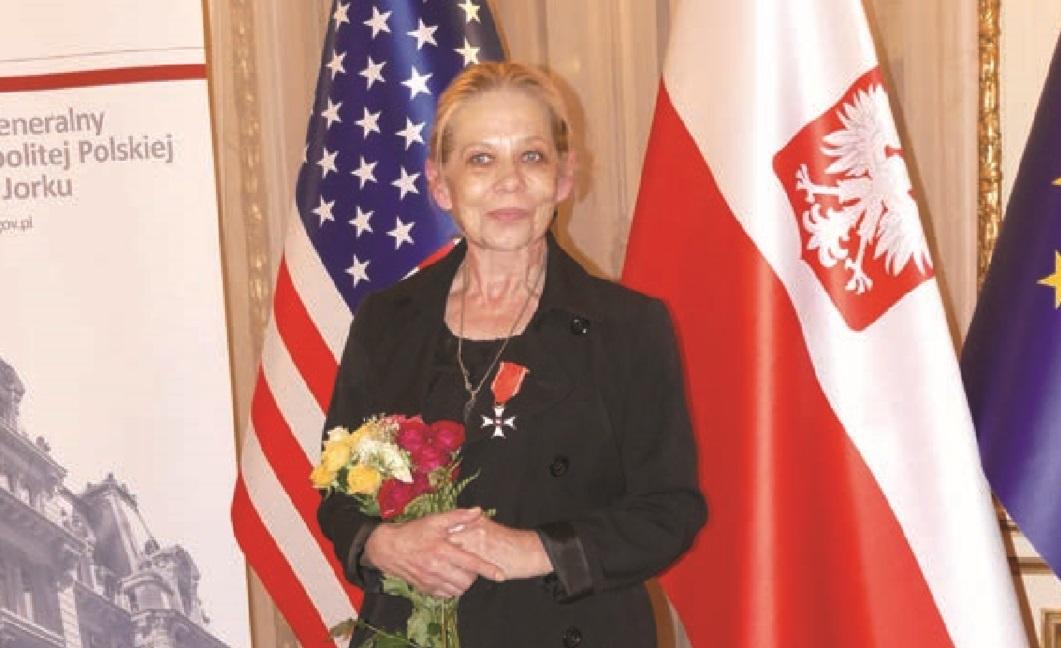 Aleksandra Katarzyna Nowak odznaczona Krzyżem Kawalerskim Orderu Odrodzenia Polski