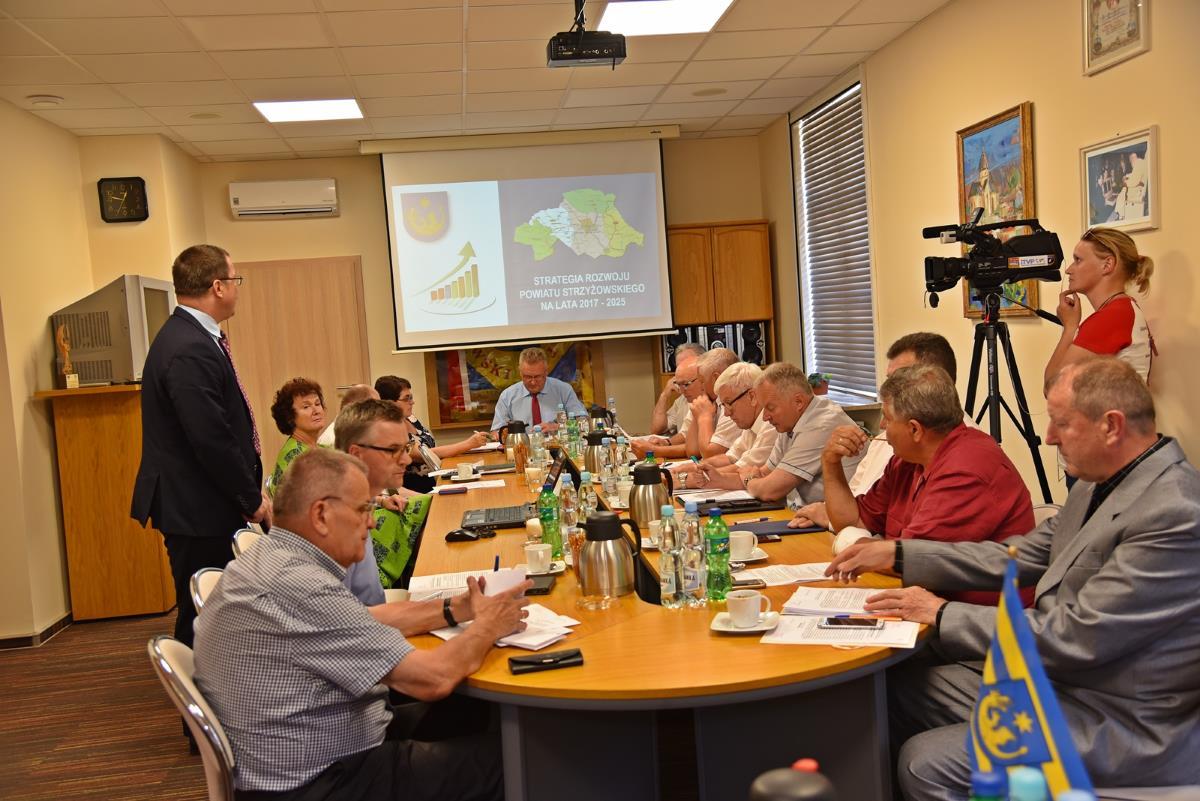 XLVIII sesja Rady Powiatu Strzyżowskiego