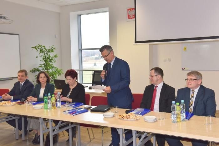 W Dobrzechowie obradował Konwent Powiatów Województwa Podkarpackiego
