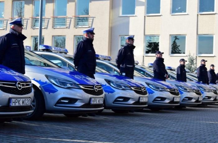 Nowe radiowozy dla strzyżowskiej Policji