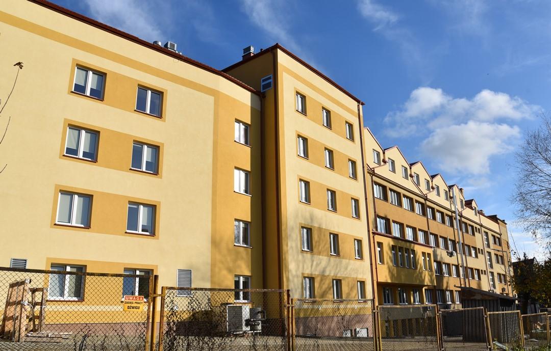 Trwa rozbudowa Szpitala Powiatowego w Strzyżowie