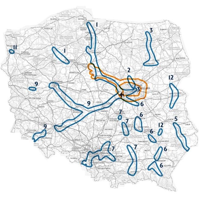 Konsultacje dot. Strategicznego Studium Lokalizacyjnego Centralnego Portu Komunikacyjnego