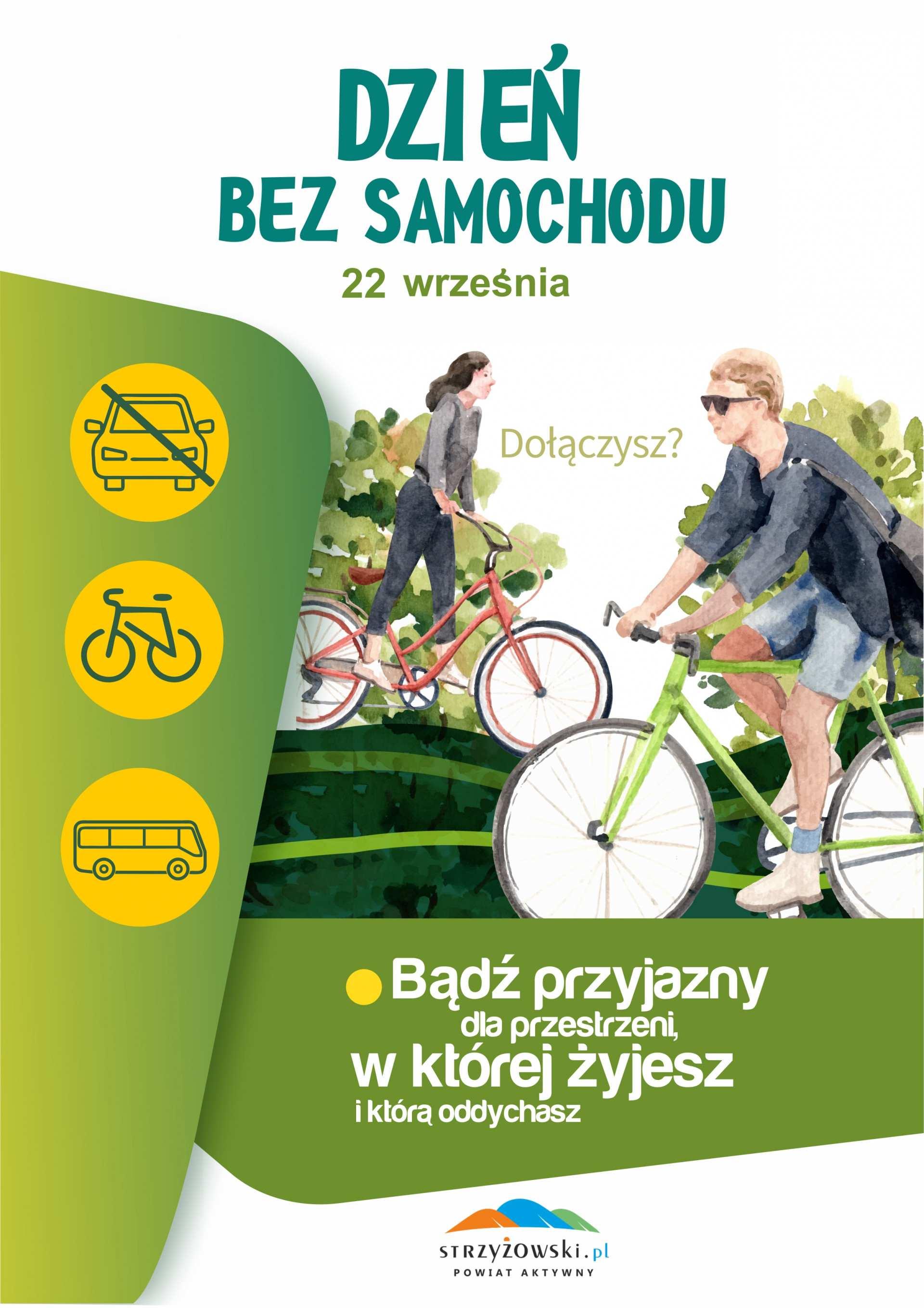 """""""Europejski Tydzień Zrównoważonego Transportu""""- kampania zainicjowana przez Komisję Europejską w 2002 r., którą zwieńczy """"Dzień bez samochodu"""" obchodzony corocznie 22 września."""