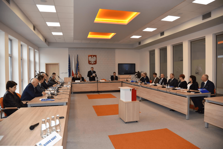 Inauguracyjna sesja Rady Powiatu Strzyżowskiego kadencji 2018-2023